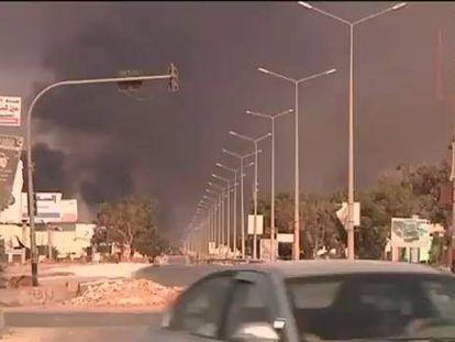 As embaixadas na Líbia estão sendo fechadas.