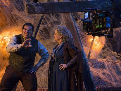 Leandro Hassum e Vera Holtz em 'Malasartes e o duelo com a morte'.