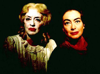 Bette Davis e Joan Crawford.