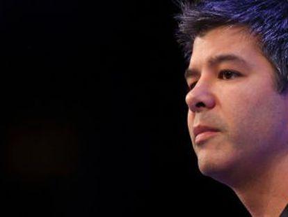 O executivo chefe do Uber, Travis Kalanick.