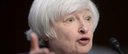 A presidenta do Fed, Janet Yellen.