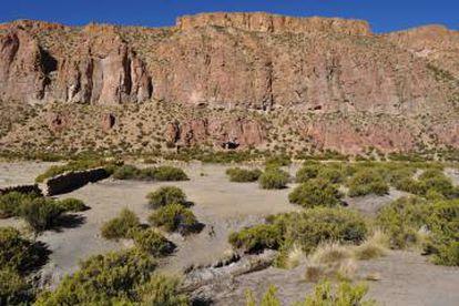 Vista exterior da Caverna do Chileno