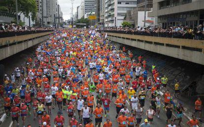 Mais de 27 mil se inscreveram para a São Silvestre, em São Paulo.