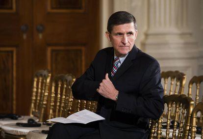 O ex-assessor de Segurança Nacional da Casa Blanca, Michael Flynn.
