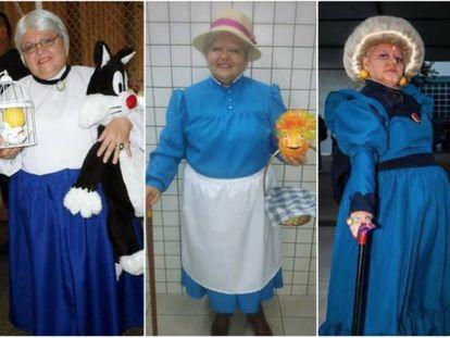 O 'cosplay' não tem idade, como mostra esta brasileira de 60 anos