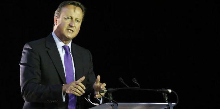 O primeiro-ministro britânico, David Cameron.