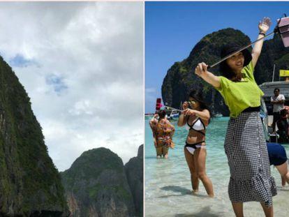 Quem é o próximo para tirar foto? Uma viagem pelos cenários do turismo de imagens falsas