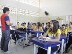Estudiantes de la ciudad de Sobral, en Ceará, Brasil.