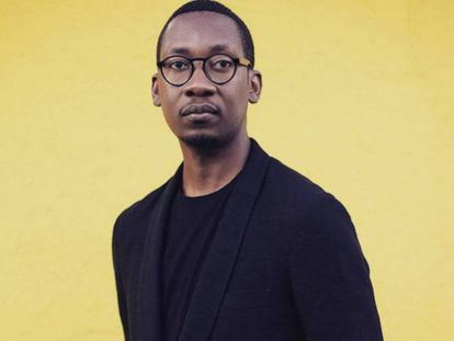 Kalaf Epalanga, músico e escritor angolano.