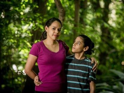 A venezuelana Samired, que decidiu viver com filho Samir em São Paulo.