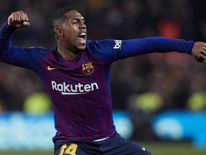 Malcom garante empate ao Barcelona contra o Real Madrid pela Copa do Rei