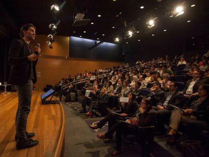 Alexandre Lafer, sócio fundador de Vitecon, no evento.