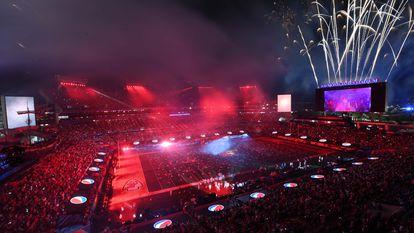 O show de The Weeknd no intervalo do Super Bowl, neste domingo.