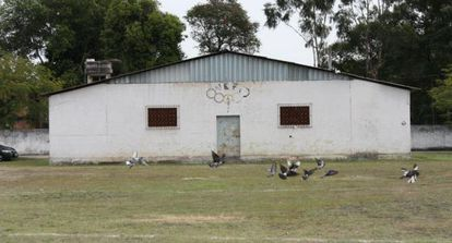 Um dos locais onde presos eram torturados.