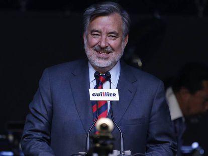 Guillier, candidato chileno de centro-esquerda