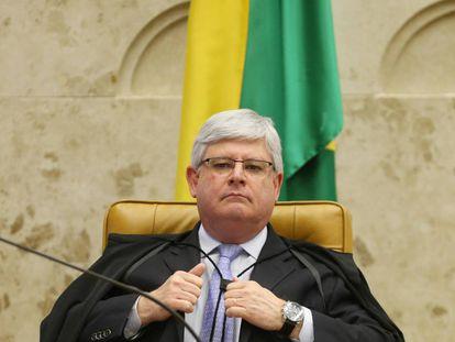 O procurador-geral Rodrigo Janot.