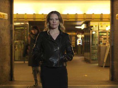 Sarah Harrison, na semana passada, em Berlim.