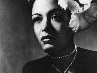 Billie Holiday em 1943.