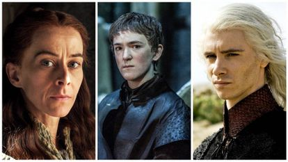 Lysa Arryn, Olly e Viserys Targaryen.