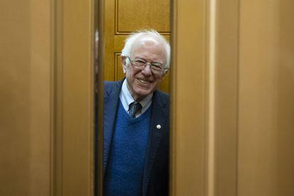 O pré-candidato democrata Washington Bernie Sanders.