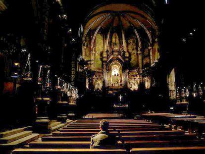 Miguel Hurtado, de 36 anos, conta que sofreu abusos sexuais por parte de um monge beneditino de Montserrat.