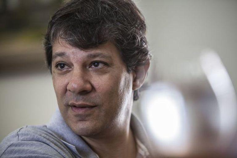 O prefeito de São Paulo Fernando Haddad (PT).