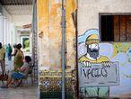 Vista de un mural en La Habana (Cuba) el 1 de septiembre.