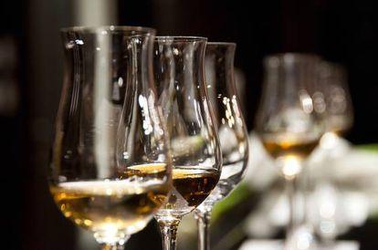 O vinho também é muito mediterrâneo. 'Open bar'? Nada disso.