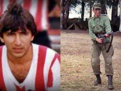 Juani: do uniforme do Estudiantes à farda de soldado.