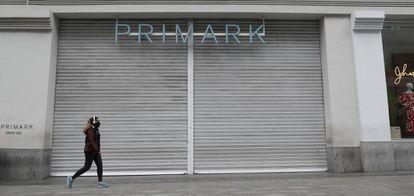 A loja da Primark na Gran Vía (Madri) permaneceu fechada do começo de março a 15 de junho.