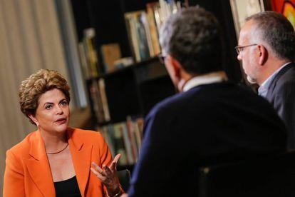 Dilma em entrevista no dia 29 de junho.