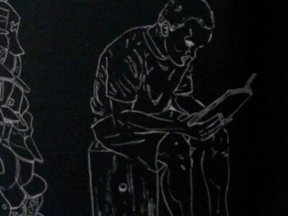 Ilustração de 'O livro preto de Ariel'.