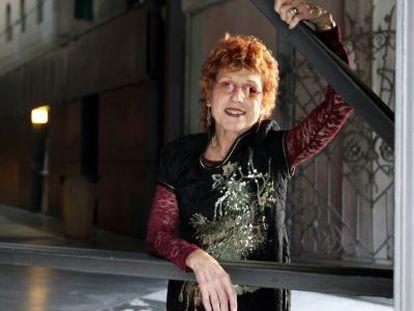 Judy Chicago, no Azkuna Zentroa de Bilbao.