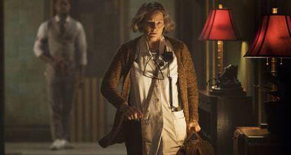 Jodie Foster em 'Hotel Artemis'.