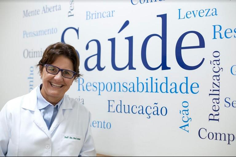 A pediatra e professora Ana Escobar.