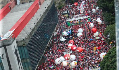 Ato contra o impeachment na Paulista dia 18.03.
