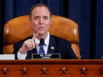 O chefe do Comitê de Inteligência da Câmara de Representantes, Adam Schiff. REUTERS