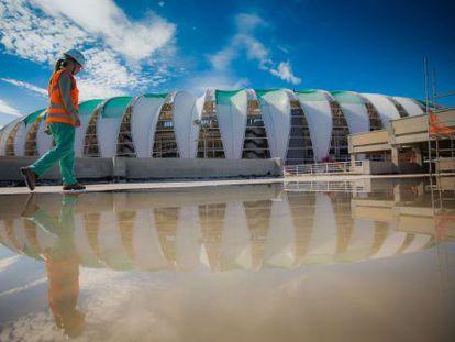 Estádio Beira-Rio em Porto Alegre.