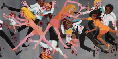 A obra 'Die' (1967), de Faith Ringgold.
