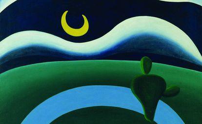 'A Lua', de Tarsila do Amaral.