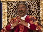 RELEASE DATE: March 5, 2021 TITLE: Coming 2 America STUDIO: Amazon Studios DIRECTOR: Craig Brewer PLOT: The African monarch Akeem learns he has a long-lost son in the United States and must return to America to meet this unexpected heir and build a relationship with his son. STARRING: EDDIE MURPHY as Akeem. (Credit Image: © Amazon Studios/Entertainment Pictures/ZUMAPRESS.com)