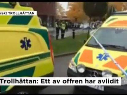 Homem armado com espada mata professor e aluno em escola na Suécia
