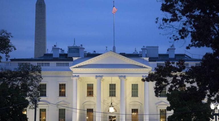 A Casa Branca, em Washington.