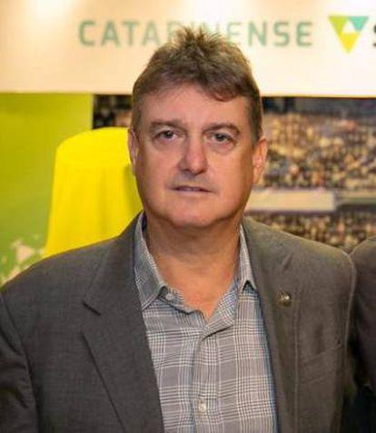 Claudio Honigman, presidente do Figueirense.