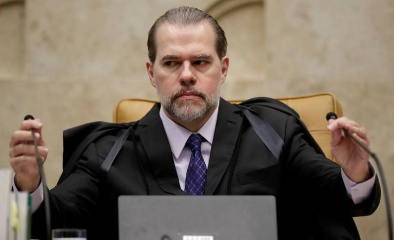 O ministro Dias Toffoli no dia 7 de novembro, no STF.