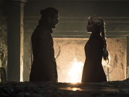 Faltando um capítulo para o final da série, o argumento se encaminha para um novo trono maldito