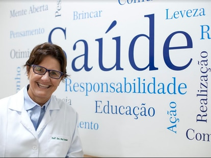 A pediatra e professora Ana Escobar.
