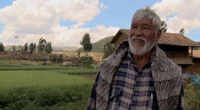Esteban Puma, campesino e ex-prefeito de Anta, Cusco.