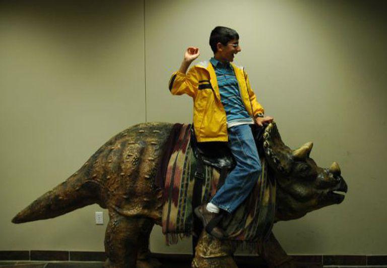 Os criacionistas defendem que os humanos conviveram com dinossauros.