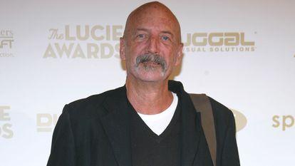 O fotógrafo David Alan Harvey em um evento em Nova York, em outubro de 2009.